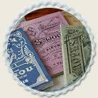 サジュー Sajouのクロスステッチ、刺繍図案や刺繍糸、刺しゅう布