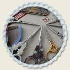 サジュー Sajouの手芸ハサミ,手芸はさみ,糸切りはさみ