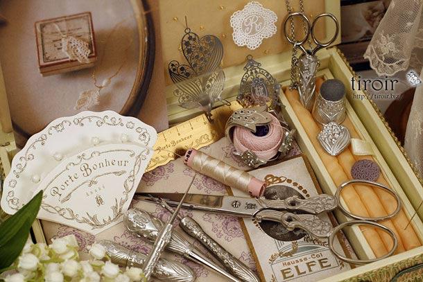 Anano × 能作 × 手芸のクロバー(株)のコラボレーションで生まれた、すずらんの手芸用品・ポルトボヌール。