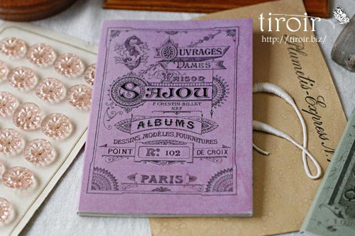 クロスステッチ刺繍図案 サジュー Sajouの【Mauves】no.102