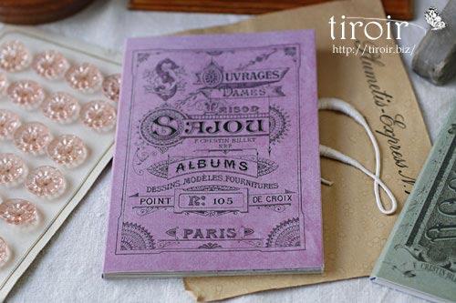 クロスステッチ刺繍図案 サジュー Sajouの【Mauves】no.105