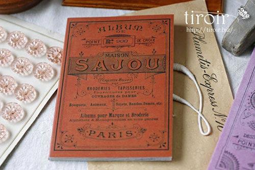 クロスステッチ刺繍図案 サジュー Sajouの【Rouge】no.900