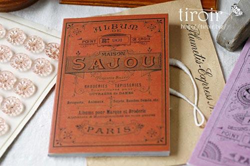 クロスステッチ刺繍図案 サジュー Sajouの【Rouge】no.901