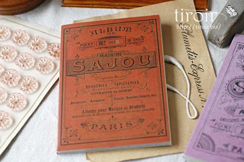 クロスステッチ刺繍図案 サジュー Sajouの【Rouge】no.903