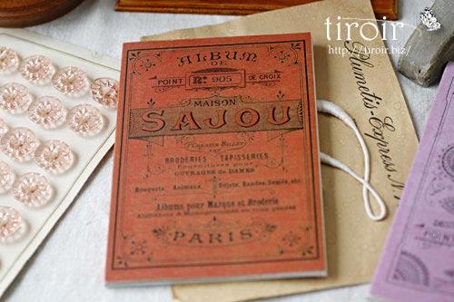 クロスステッチ刺繍図案 サジュー Sajouの【Rouge】no.905