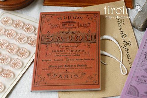 クロスステッチ刺繍図案 サジュー Sajouの【Rouge】no.907
