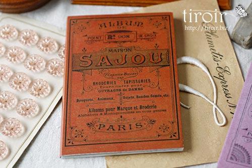クロスステッチ刺繍図案 サジュー Sajouの【Rouge】no.908