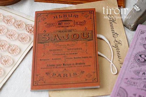 クロスステッチ刺繍図案 サジュー Sajouの【Rouge】no.910
