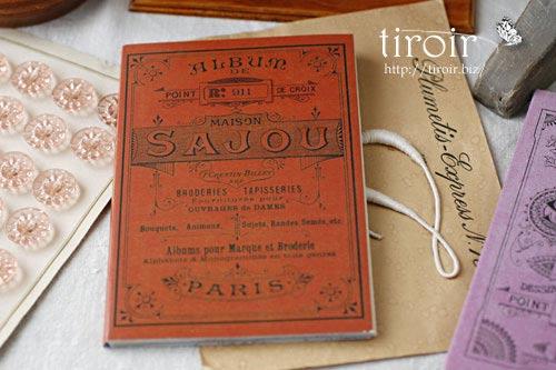 クロスステッチ刺繍図案 サジュー Sajouの【Rouge】no.911