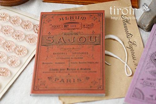 クロスステッチ刺繍図案 サジュー Sajouの【Rouge】no.912