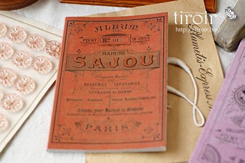 クロスステッチ刺繍図案 サジュー Sajouの【Rouge】no.913