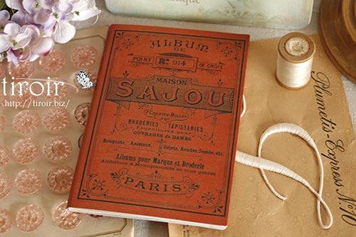 クロスステッチ刺繍図案 サジュー Sajouの【Rouge】no.914
