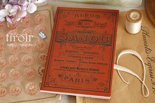 クロスステッチ刺繍図案 サジュー Sajouの【Rouge】no.915