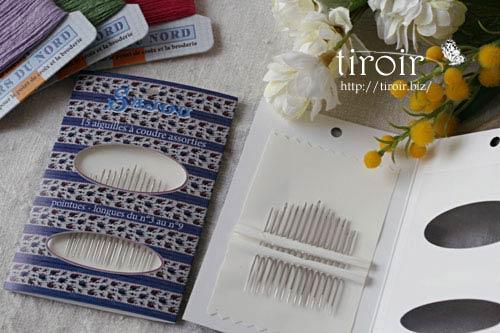 手芸用品 ニードルブック お裁縫針 ソーイング針 サジュー