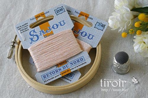 サジュー Sajouの刺繍糸【Retors du Nord】、色番2190