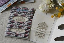タペストリー刺繍針 18番、20番、22番 サジュー Sajouの手芸用品