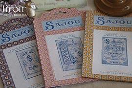クロスステッチ 刺繍図案|サジュー Sajou カバーチャート