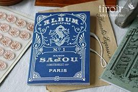 クロスステッチ 刺繍図案|サジュー Sajou【Bleus】no.1〜8