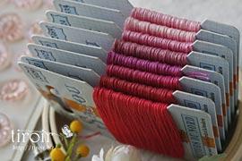 クロスステッチ 刺繍糸|サジュー Sajou【Retors du Nord】色番2447〜2882