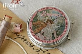 スナップボタン入りティン缶【Fairy】|サジュー Sajouの手芸用品