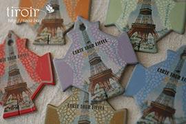 糸巻き【Paris】エッフェル塔|サジュー Sajouの手芸用品