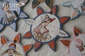 糸巻き【Deauville】モードな女性達|サジュー Sajouの手芸用品