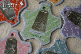 糸巻き【Dieppe】アンティークの指ぬき|サジュー Sajouの手芸用品
