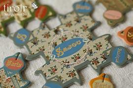 糸巻き【Cabourg】小さな花柄|サジュー Sajouの手芸用品