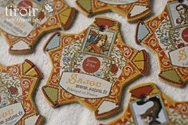 糸巻き【Caen】人物|サジュー Sajouの手芸用品