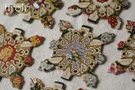 糸巻き【Elbeuf】種メーカーのヴィンテージラベル|サジュー Sajouの手芸用品
