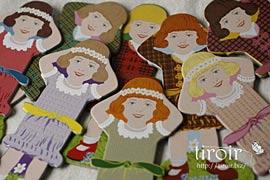 糸巻き【Petites Filles】リトルガール|サジュー Sajouの手芸用品
