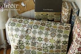 コットン生地|手芸にぴったりな糸巻き柄 全4色